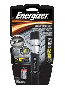 Energizer Black And Gray Hardcase Professional MAX Inspection Flashlight With LED