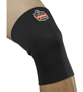 Ergodyne Small Black ProFlex 600 Neoprene Ambidextrous Single Layer Knee Sleeve With Hook And Loop Closure