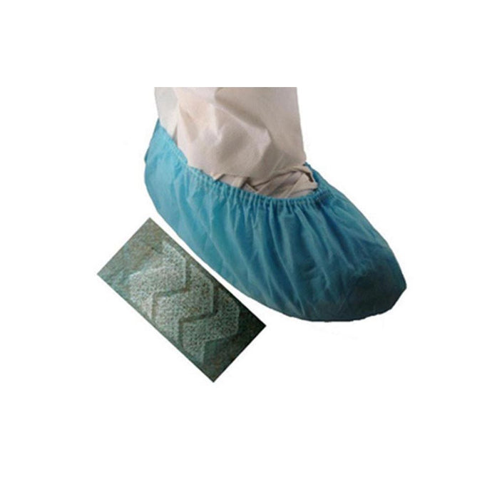 EPIC- Polypropylene Sky Blue Shoe Cover with white anti-skid bottom- Case (300 Covers)