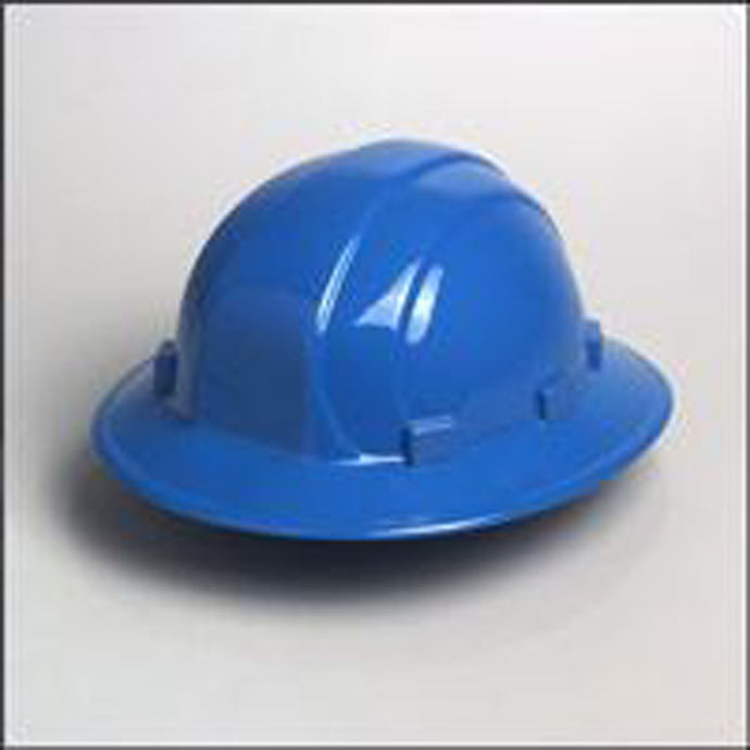 ERB Safety - Omega II - Full Brim Safety Helmet - Ratchet Suspension