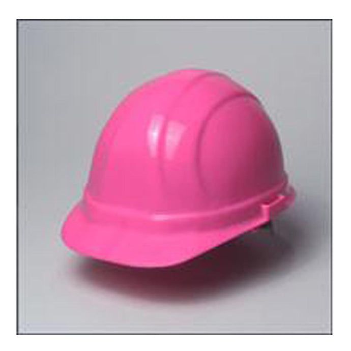 ERB Safety - Omega II - 6-pt Ratchet Hard Hat Safety Helmet - Pink