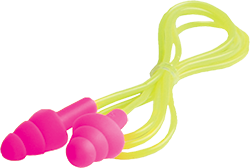 ERB Reusable Ear Plugs  CORDED PINK