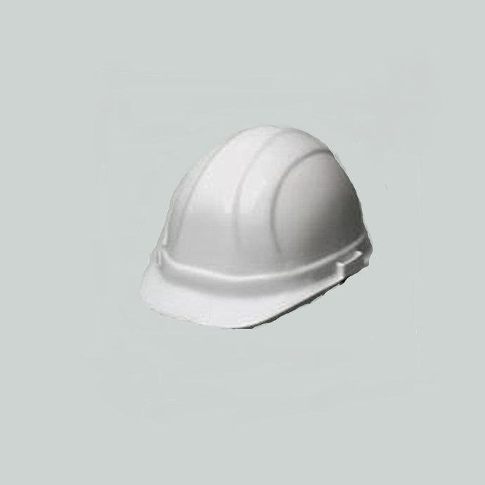 ERB Safety - Omega II - 6-pt Ratchet Hard Hat Safety Helmet - White