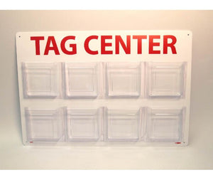 8 Pocket Tag Center