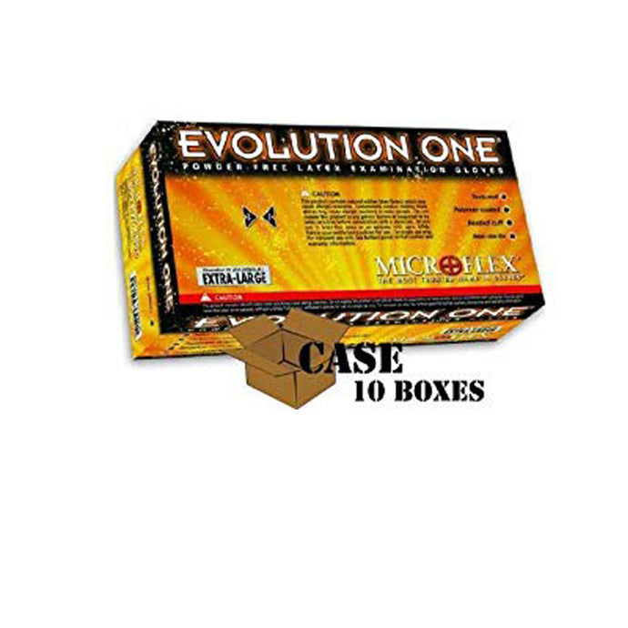 Microflex - Evolution One Powder-free Latex Examination Gloves - Case