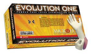 Microflex - Evolution One Powder-free Latex Examination Gloves - Box