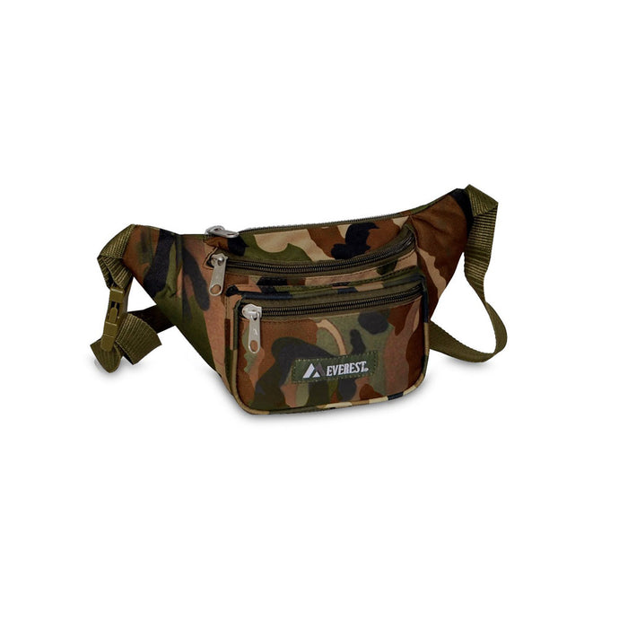 Everest-Woodland Camo Waist Pack
