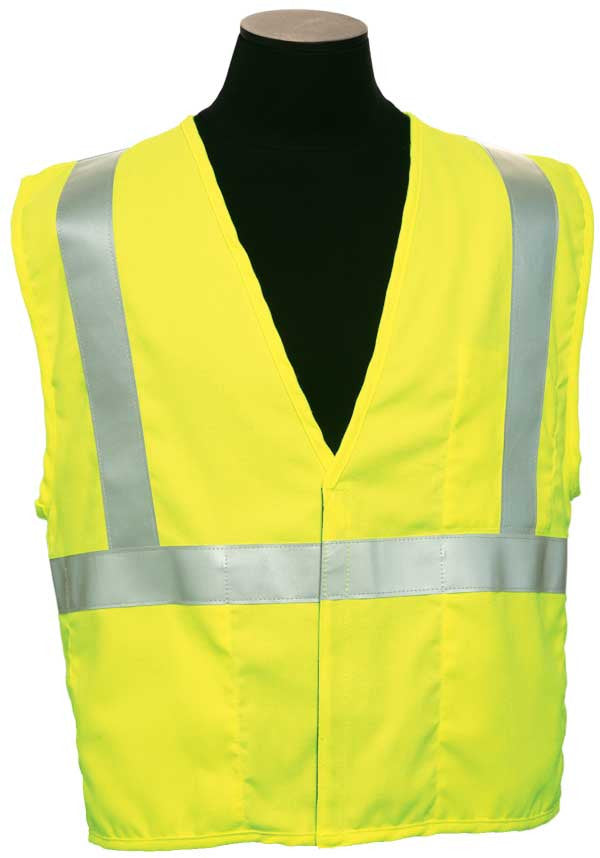 ML Kishigo - ARC Series 1 Class 2 Safety Vest color Orange material : Modacyrilic Mesh, size 4X-large