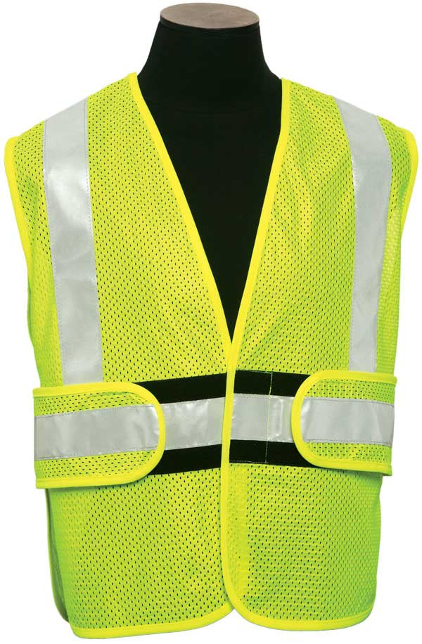 ML Kishigo - FR Adjustable Ultra-Cool Mesh Tearaway Safety Vest Class 2