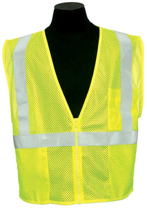 ML Kishigo - FR Surveyor's Ultra-Cool Mesh Safety Vest Class 2 color Lime size 5X-large