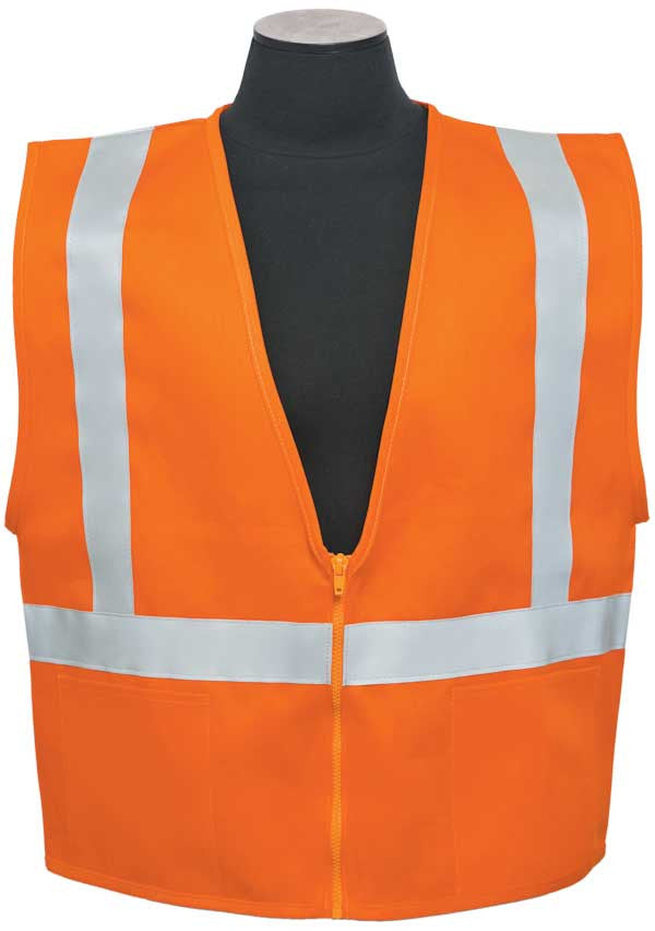 ML Kishigo - 100% Cotton Safety Vest with D-Ring Access size Small