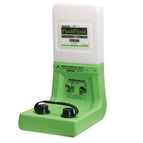 Fend-all Flash Flood Emergency Eye Wash Station With 1 Gallon Saline Cartridge