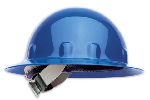 946aae699fe Fibre-Metal by Honeywell Thermoplastic Full Brim Hard Hat With 8 Point  Ratchet Suspension