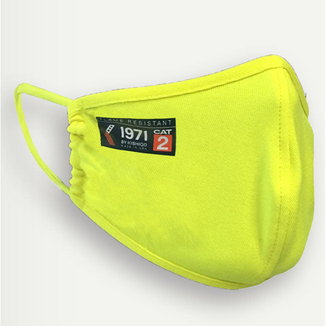 ML Kishigo Fire Resistant Protective Face Mask High Viz