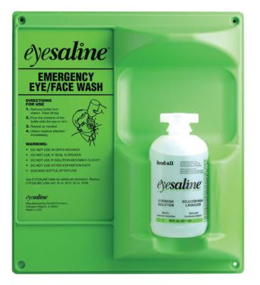 Fend-all 16 Ounce Eyesaline Eyewash Station