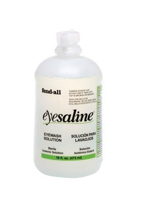 Fend-all 16 Ounce Eyesaline Sterile Eyewash