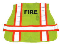 3A Safety - FIRE Print 5-Point Breakaway Mesh Safety Vest - Fire Rated