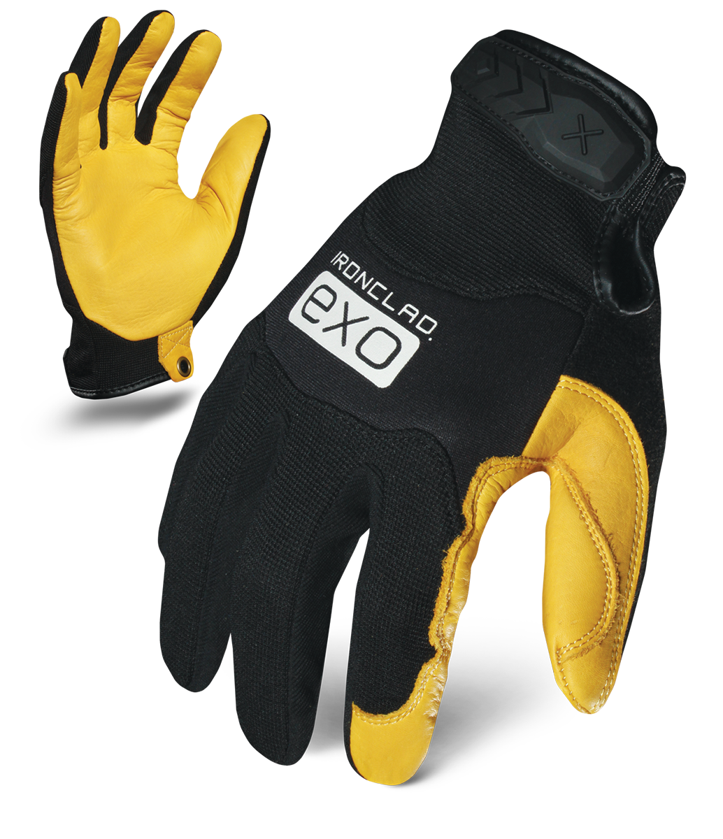 IronClad MOTOR PRO GOLD COWHIDE Glove