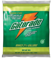 Gatorade 2.12 Ounce Instant Powder Concentrate Packet Lemon Lime Electrolyte Drink - Yields 1 Quart
