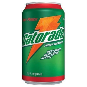 Gatorade 30903 24/11.6oz. Cans Fruit Punch Drink 33774