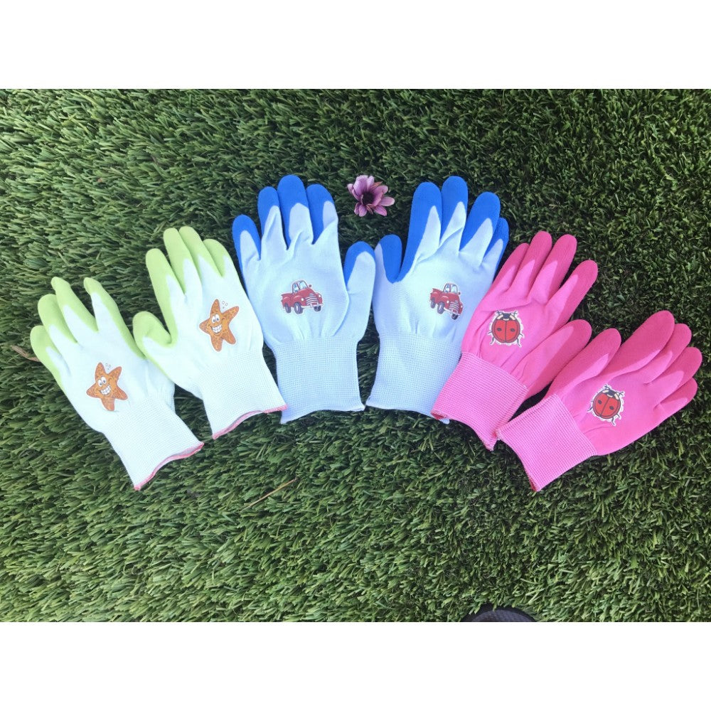 GD CARE- Kids Seamless Nylon Gardening, Cleaning and General Purpose Glove