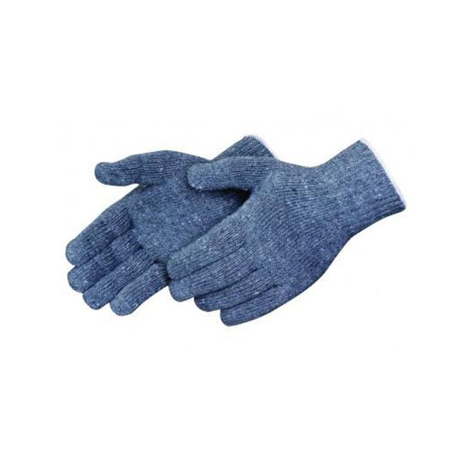 Gray cotton/ polyester knit Gloves - Dozen