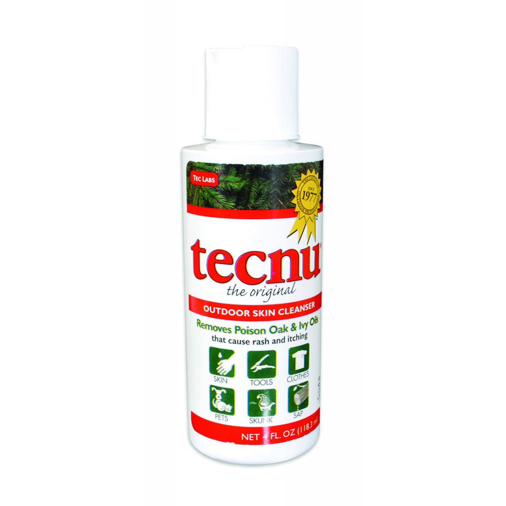 Honeywell 4 Ounce Bottle Tecnu Poison Plant Cleanser