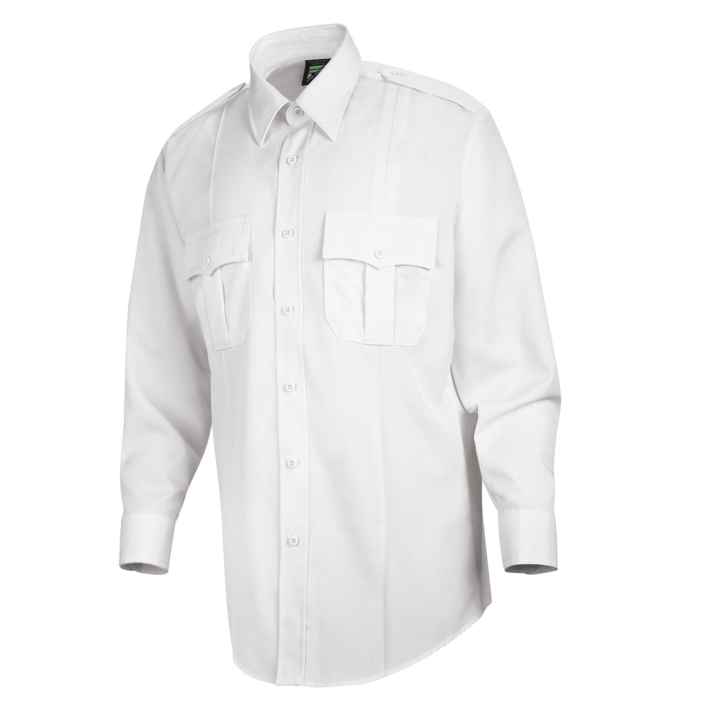 Horace Small Deputy Deluxe Long Sleeve Shirt HS1125 - White
