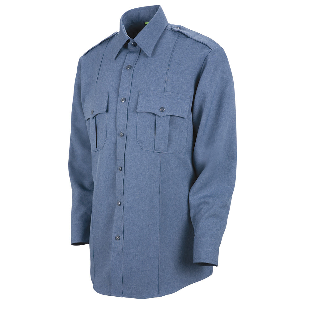 Horace Small Sentry Long Sleeve Shirt HS1133 - French Blue Heather