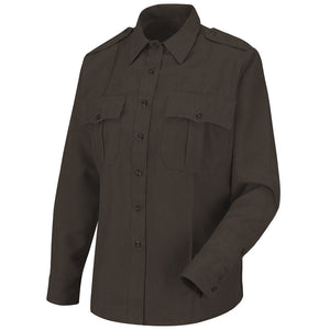 Horace Small Women's Sentry Long Sleeve Shirt HS1183 - Brown
