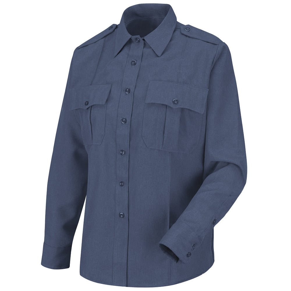 Horace Small Women's Sentry Long Sleeve Shirt HS1185 - French Blue Heather