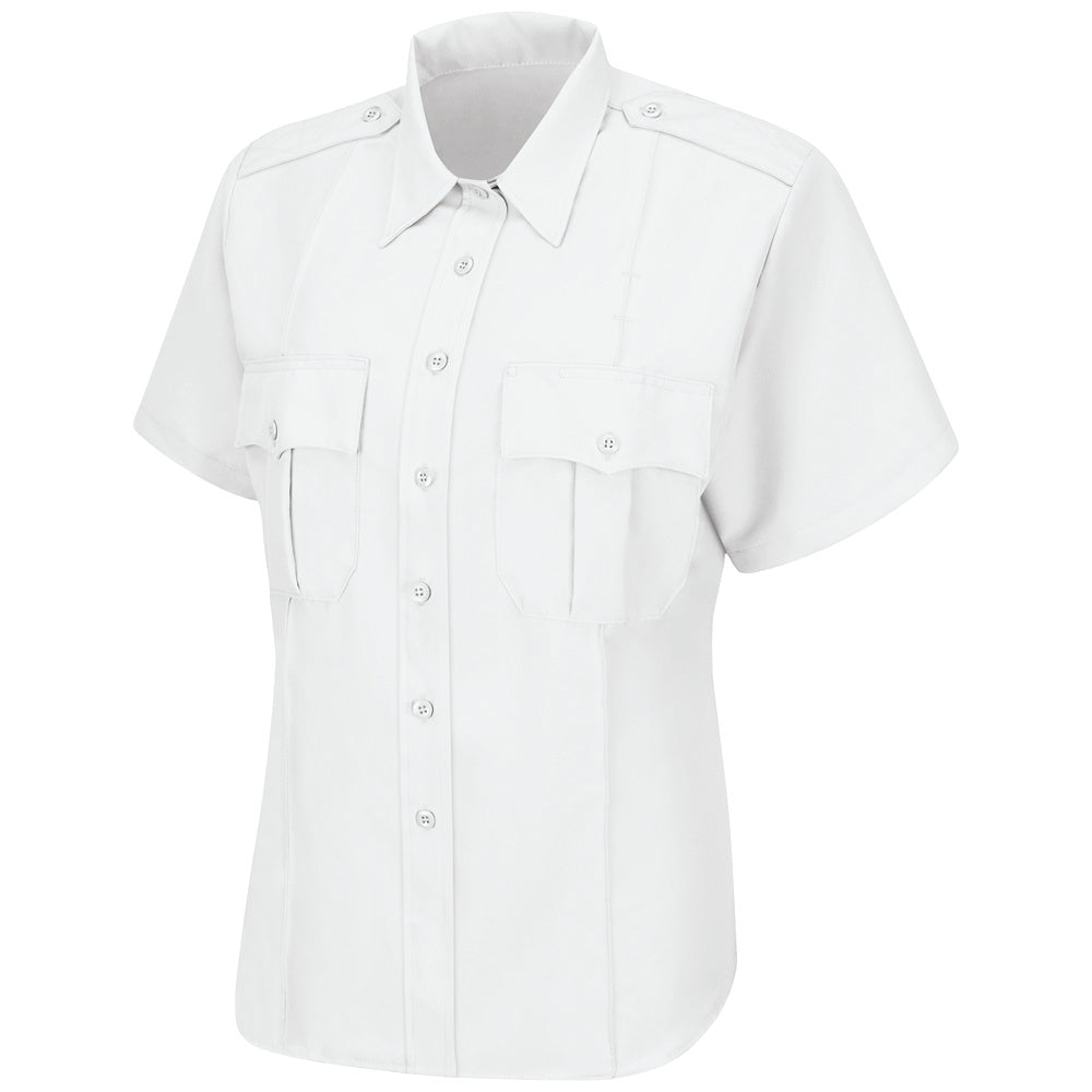 Horace Small Sentry Short Sleeve Shirt HS1292 - White