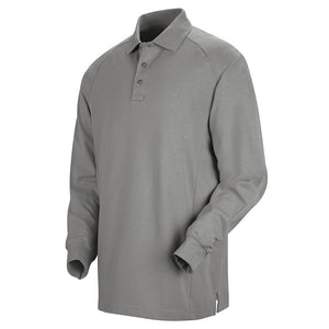 Horace Small Special Ops Long Sleeve Polo HS5135 - Grey
