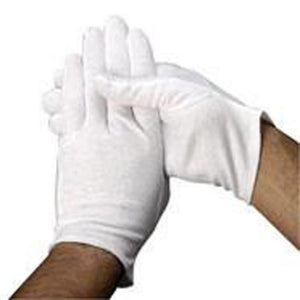 Heavy-Weight Hemmed Pallbearer Gloves - Dozen
