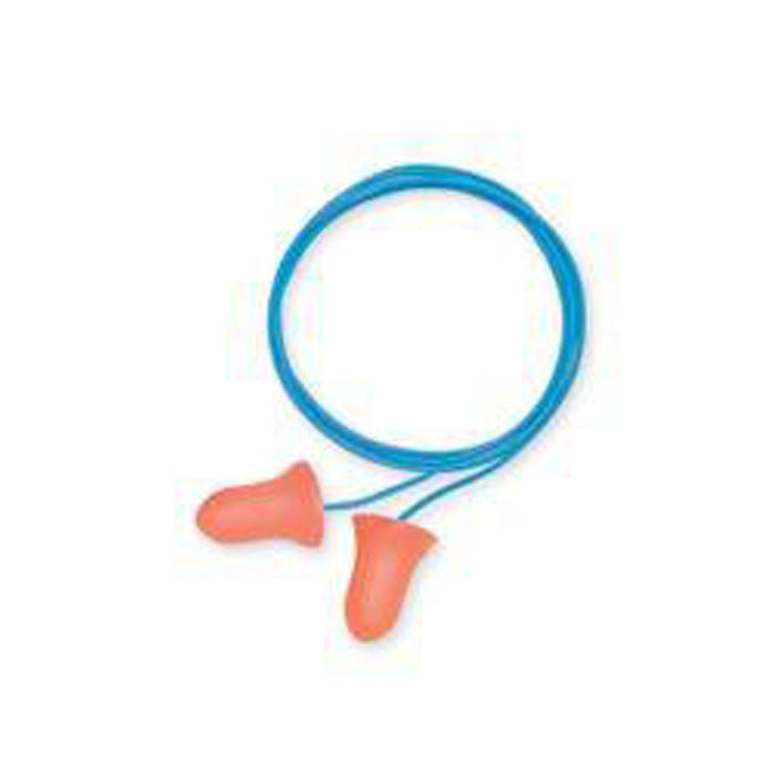 Howard Leight - Bell Shaped Polyurethane And Foam Earplugs (corded)-100 pr/bx
