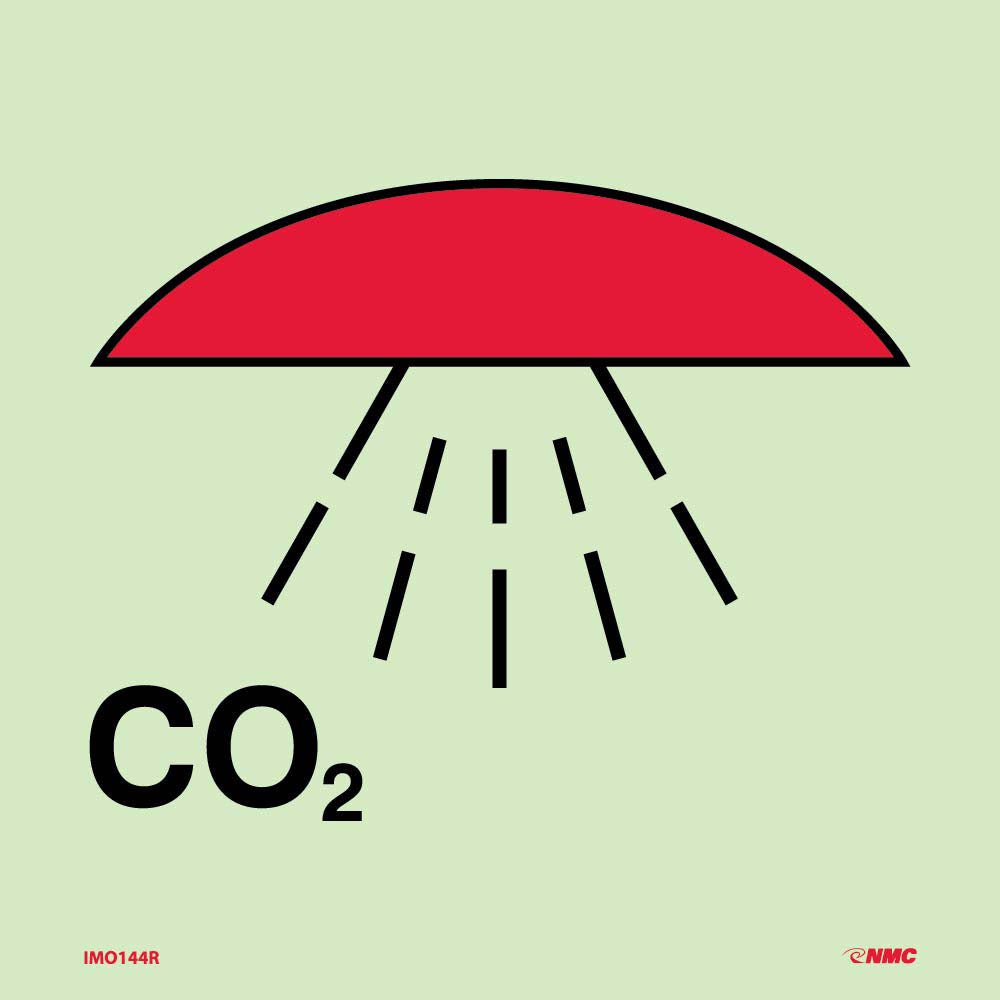 Symbol Space Protected By Co2 Imo Label