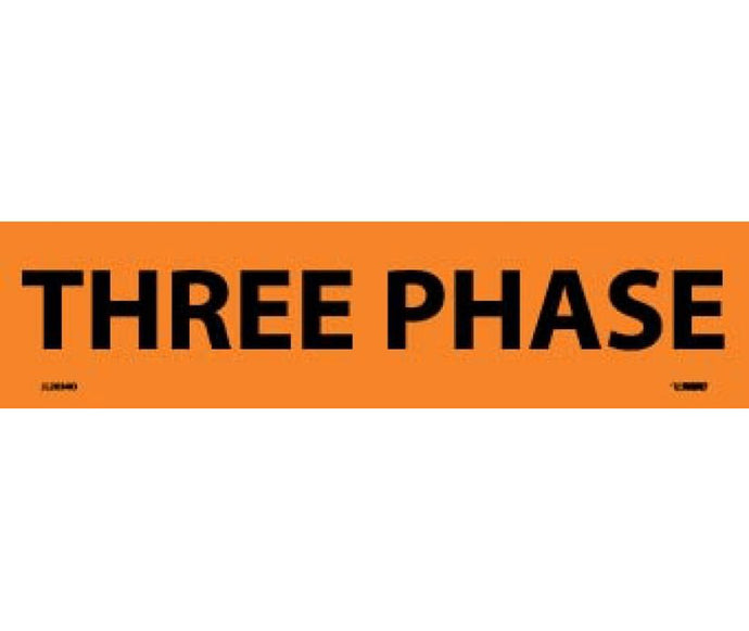 Three Phase Electrical Marker - Roll