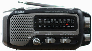 Kaito Voyager Trek Mulit-band Radio with LED Flashlight