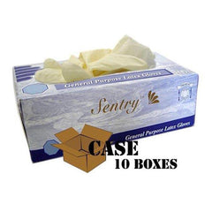 Sentry - Latex Gloves Powdered - Case
