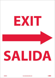 Exit Sign - Bilingual