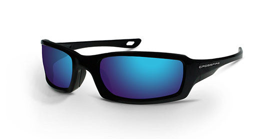 M6A Blue Mirror Lens and Metallic Blue Frame