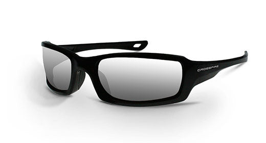 M6A Silver Mirror Lens and Pearl Black Frame