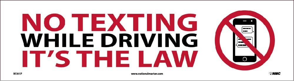No Texting While Driving It S The Law