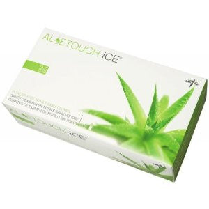Medline - Aloetouch - Ice PF Nitrile Exam Gloves - Box