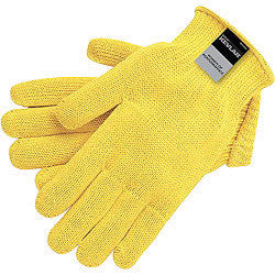 Memphis Glove X-Large Yellow Memphis Glove 7 gauge Kevlar Cut Resistant Gloves With Knit Wrist - Dozen