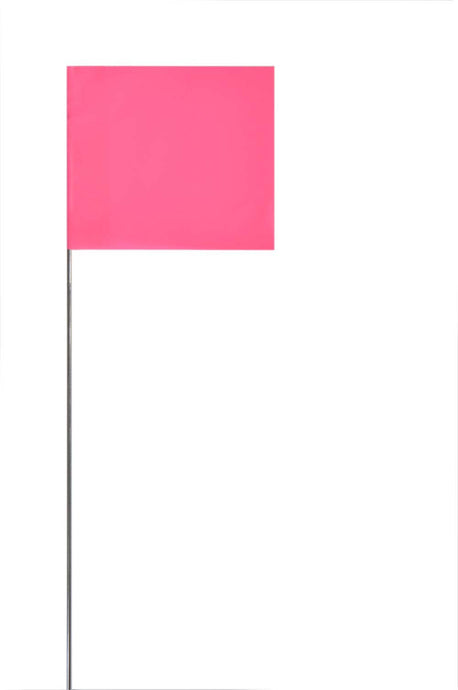 Marking Flag Pink Glo - Pack of 1000
