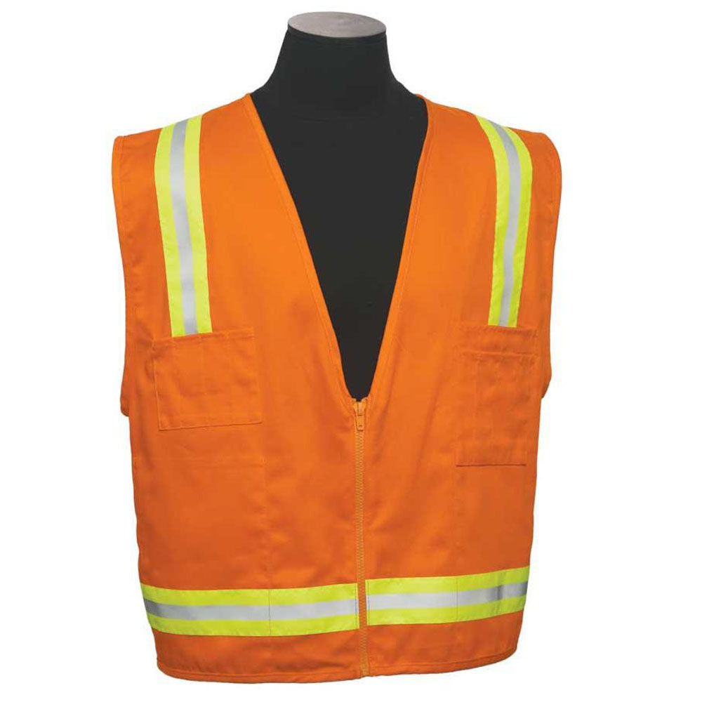 ML Kishigo - 100% Cotton Surveyor's Safety Vest
