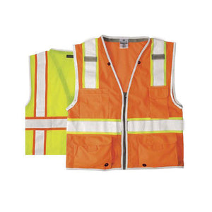 ML Kishigo - BRILLIANT SERIES Heavy Duty Class 2 Safety Vest Color Lime Size Medium