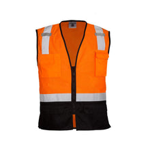 Load image into Gallery viewer, ML Kishigo - Black Bottom Class 2 Safety Vest