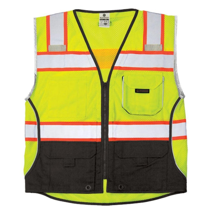 ML Kishigo - Black Series Black Bottom Class 2 Safety Vest